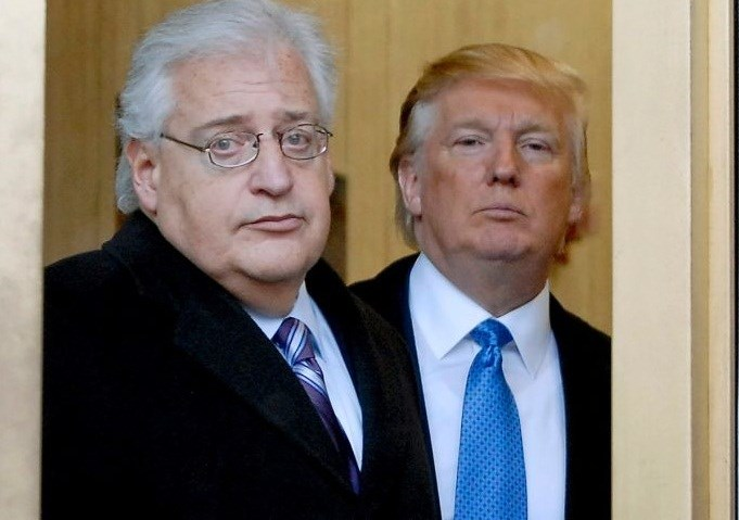 David Friedman with Trump