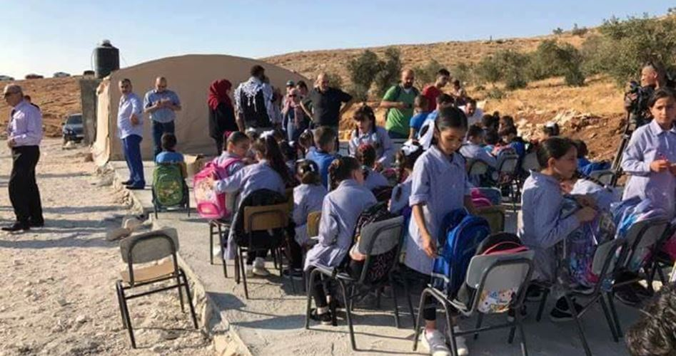 Israel military destroys Palestinian school in al-Khalil