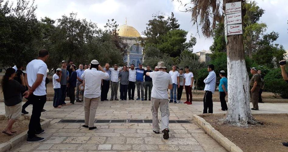 settlers at Aqsa