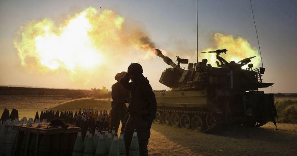 Israeli shelling