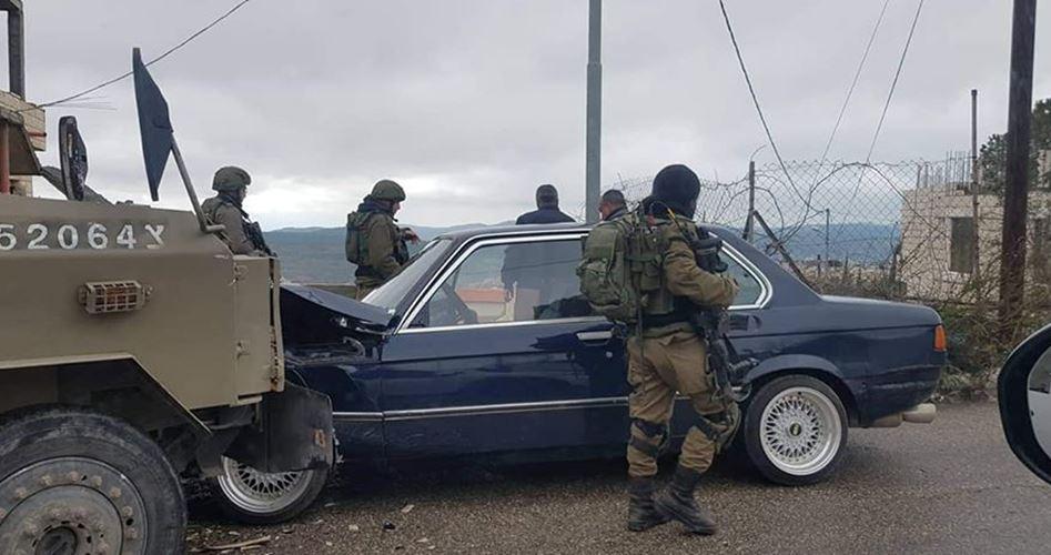 Palestinese di Tubas investito da jeep militare israeliana