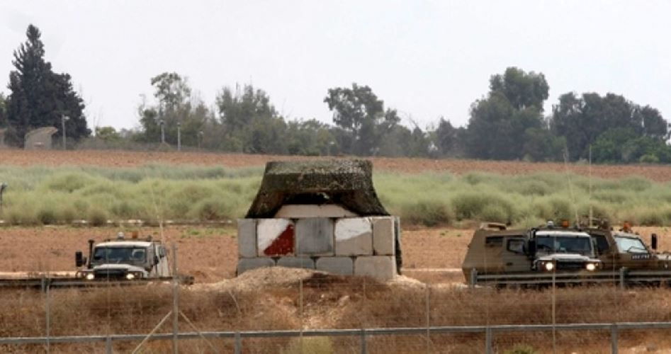 IOF on Gaza border
