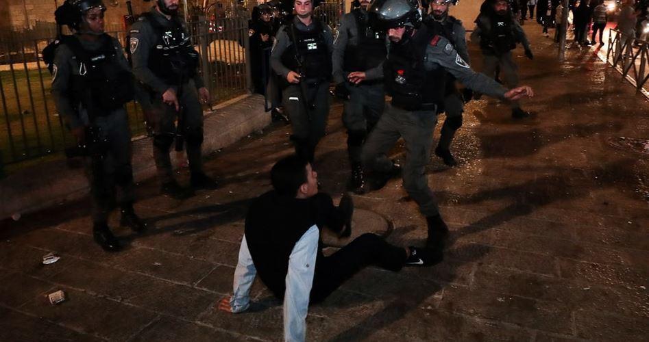 IOF assaults Palestinian