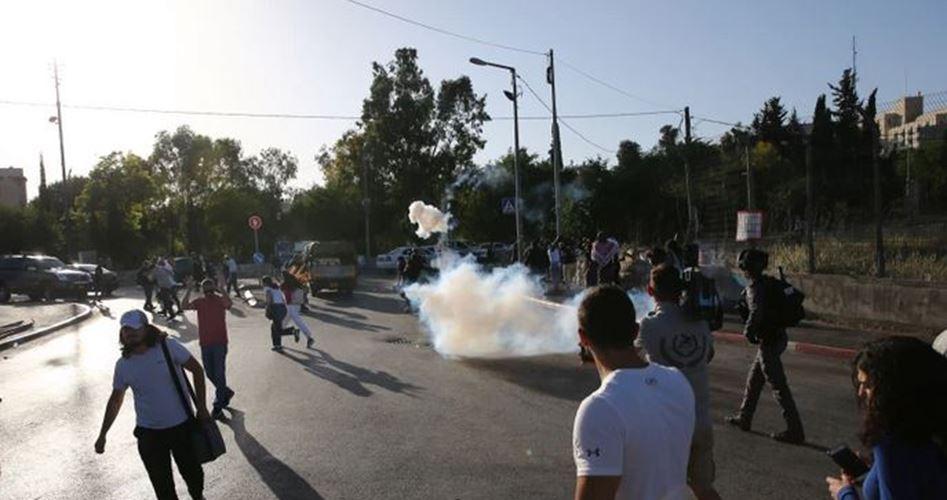 Israeli police attack protesters