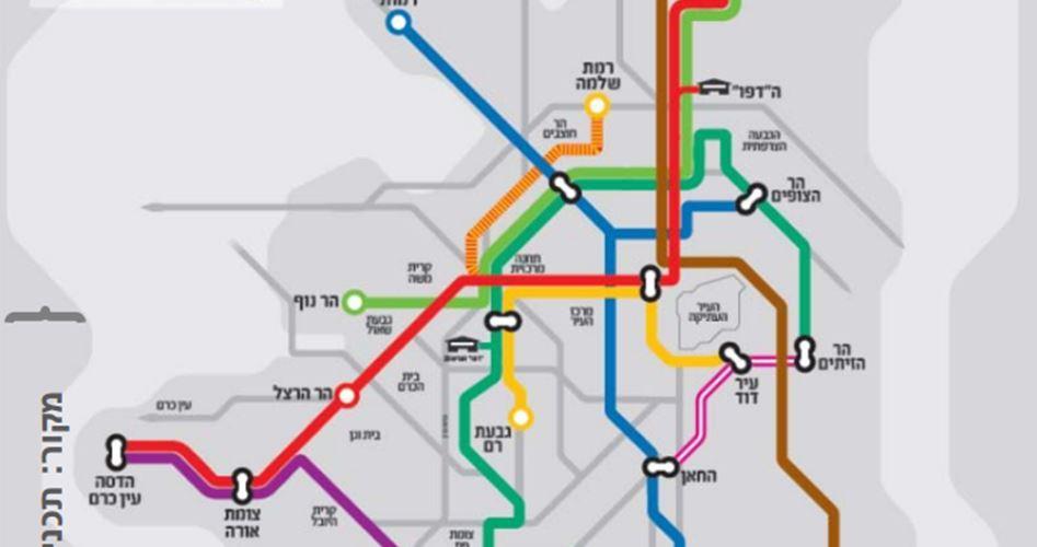 Israel dismembers O. Jerusalem by adding new light rail line